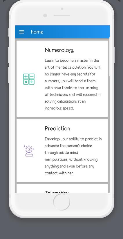 Keysmind app homepage